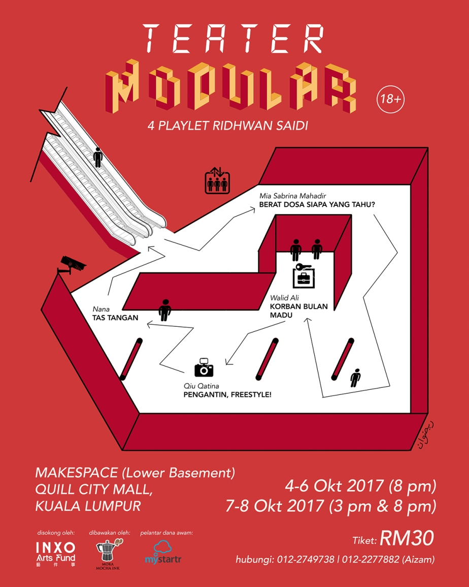 teater modular poster F