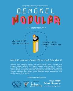 bengkel modular poster