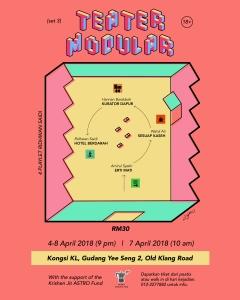 teater modular poster
