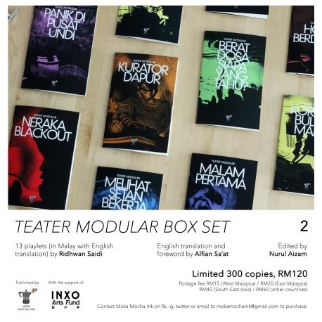 box set poster A2