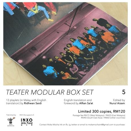 box set poster A5