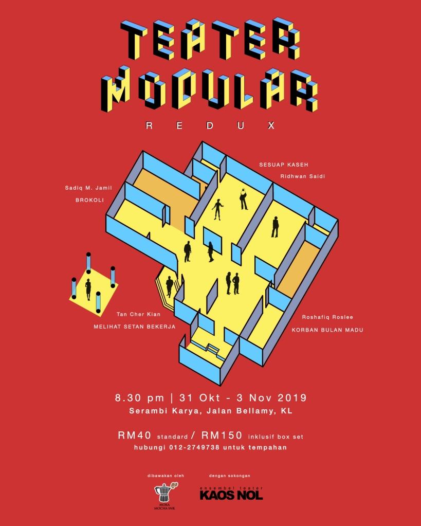 teater modular redux poster mini